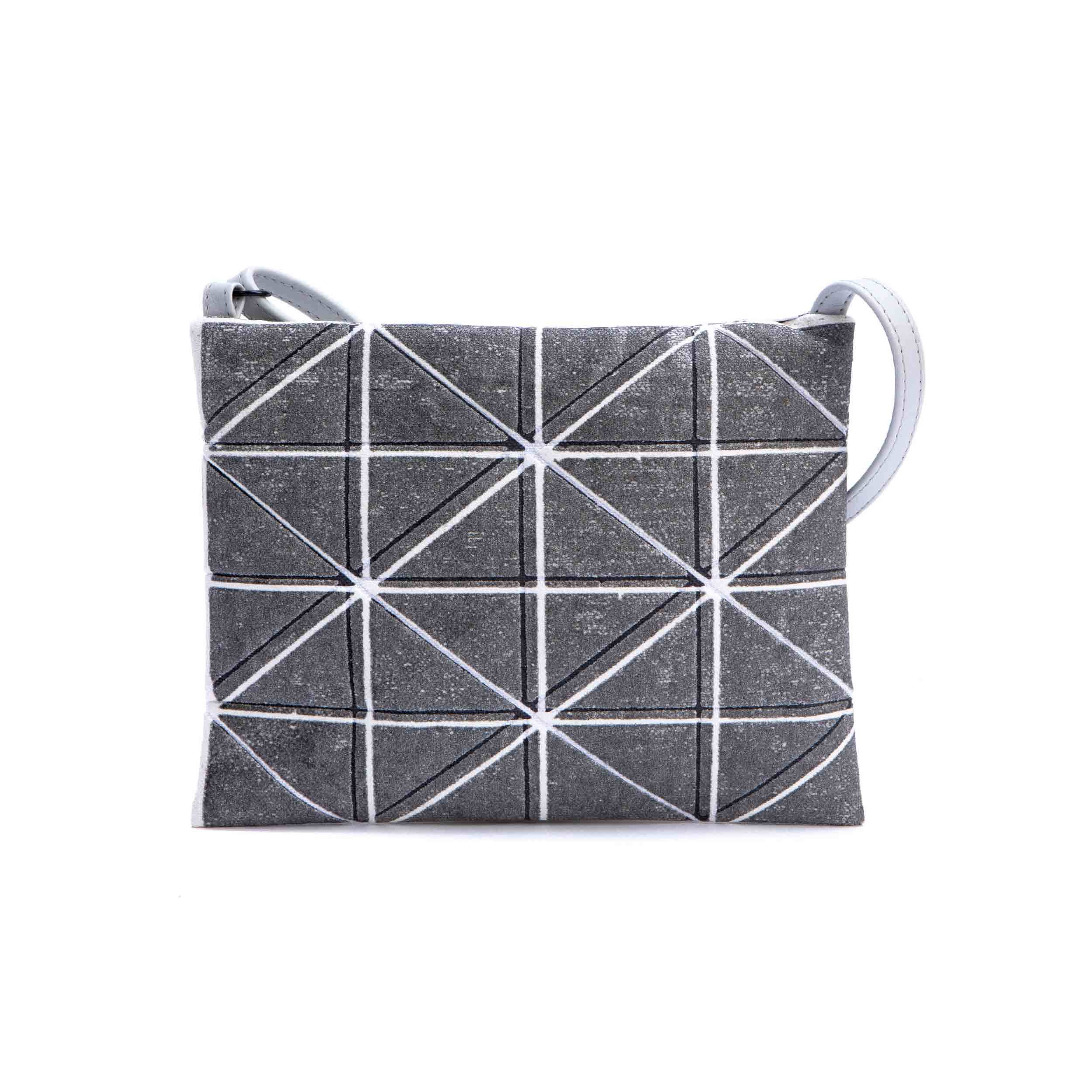 acf14d79e White & Grey Crossbody Bag (Bling)